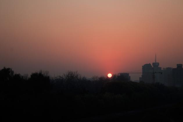 Sunset in Beijing III