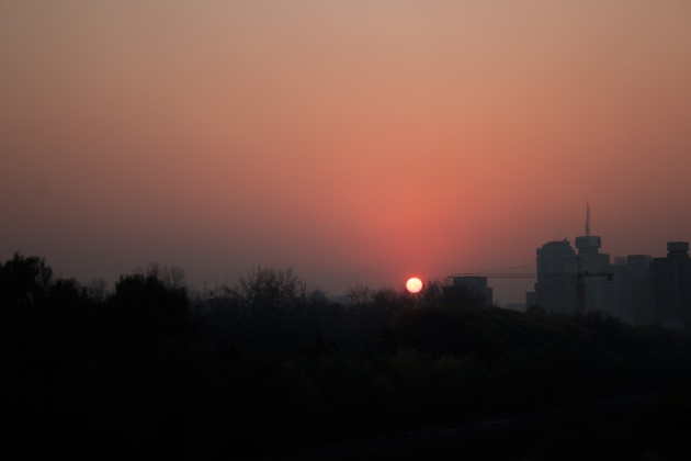 Sunset in Beijing III